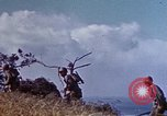 Image of 6th Marine Division 4th Marines Okinawa Ryukyu Islands, 1945, second 7 stock footage video 65675052857