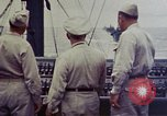 Image of Naval officer Commodore Herbert Knowles Okinawa Ryukyu Islands, 1945, second 3 stock footage video 65675052858