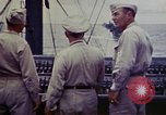Image of Naval officer Commodore Herbert Knowles Okinawa Ryukyu Islands, 1945, second 4 stock footage video 65675052858