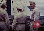 Image of Naval officer Commodore Herbert Knowles Okinawa Ryukyu Islands, 1945, second 5 stock footage video 65675052858