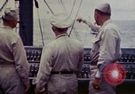 Image of Naval officer Commodore Herbert Knowles Okinawa Ryukyu Islands, 1945, second 6 stock footage video 65675052858