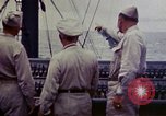 Image of Naval officer Commodore Herbert Knowles Okinawa Ryukyu Islands, 1945, second 8 stock footage video 65675052858