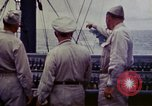 Image of Naval officer Commodore Herbert Knowles Okinawa Ryukyu Islands, 1945, second 9 stock footage video 65675052858