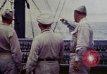 Image of Naval officer Commodore Herbert Knowles Okinawa Ryukyu Islands, 1945, second 10 stock footage video 65675052858