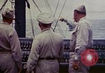 Image of Naval officer Commodore Herbert Knowles Okinawa Ryukyu Islands, 1945, second 11 stock footage video 65675052858