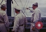 Image of Naval officer Commodore Herbert Knowles Okinawa Ryukyu Islands, 1945, second 12 stock footage video 65675052858