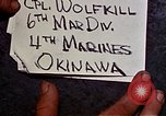 Image of 1st Battalion 4th Marines Okinawa Ryukyu Islands, 1945, second 2 stock footage video 65675052864