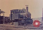 Image of demolished Japanese locomotive Naha Okinawa Ryukyu Islands, 1945, second 5 stock footage video 65675052874