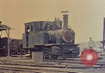 Image of demolished Japanese locomotive Naha Okinawa Ryukyu Islands, 1945, second 8 stock footage video 65675052874