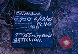 Image of 7th 155MM Gun Battalion Okinawa Ryukyu Islands, 1945, second 4 stock footage video 65675052902