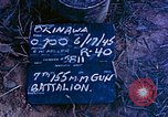 Image of 7th 155MM Gun Battalion Okinawa Ryukyu Islands, 1945, second 6 stock footage video 65675052902