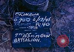 Image of 7th 155MM Gun Battalion Okinawa Ryukyu Islands, 1945, second 7 stock footage video 65675052902