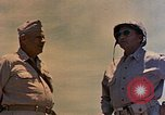 Image of Generals Geiger and del Valle Mobuni Okinawa Ryukyu Islands, 1945, second 8 stock footage video 65675052903