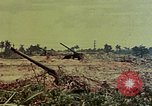 Image of artillery emplacement of 8th 155mm Gun Battalion Naha Okinawa Ryukyu Islands, 1945, second 2 stock footage video 65675052914
