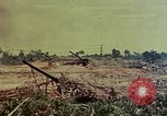 Image of artillery emplacement of 8th 155mm Gun Battalion Naha Okinawa Ryukyu Islands, 1945, second 4 stock footage video 65675052914