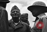 Image of Marine General Alexander Vandegrift Okinawa Ryukyu Islands, 1945, second 12 stock footage video 65675052937