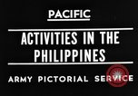 Image of 63rd Regiment Manila Philippines, 1945, second 6 stock footage video 65675052938