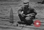 Image of United States Ordnance man Okinawa Ryukyu Islands, 1945, second 10 stock footage video 65675052939