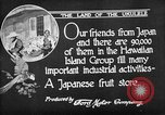 Image of Japanese people Hawaii USA, 1919, second 6 stock footage video 65675052976