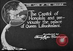 Image of various buildings Honolulu Hawaii USA, 1919, second 4 stock footage video 65675052977