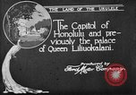 Image of various buildings Honolulu Hawaii USA, 1919, second 5 stock footage video 65675052977