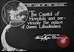 Image of various buildings Honolulu Hawaii USA, 1919, second 11 stock footage video 65675052977
