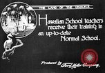 Image of school buildings Honolulu Hawaii USA, 1919, second 8 stock footage video 65675052978