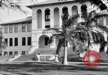 Image of school buildings Honolulu Hawaii USA, 1919, second 12 stock footage video 65675052978