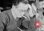 Image of Japanese newspaper room Tokyo Japan, 1943, second 12 stock footage video 65675052994