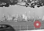 Image of skyline New York City USA, 1941, second 1 stock footage video 65675053009