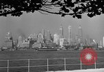Image of skyline New York City USA, 1941, second 4 stock footage video 65675053009