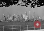 Image of skyline New York City USA, 1941, second 10 stock footage video 65675053009