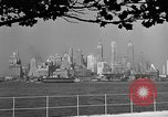 Image of skyline New York City USA, 1941, second 11 stock footage video 65675053009