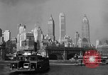 Image of skyline New York City USA, 1941, second 11 stock footage video 65675053010
