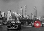 Image of skyline New York City USA, 1941, second 12 stock footage video 65675053010