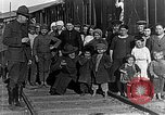 Image of Russian refugees pose for camera Vladivostok Russia, 1918, second 7 stock footage video 65675053021
