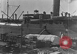 Image of US soldiers protect commodities sea port Vladivostok Russia, 1918, second 6 stock footage video 65675053025