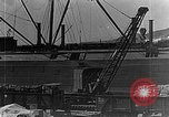 Image of US soldiers protect commodities sea port Vladivostok Russia, 1918, second 12 stock footage video 65675053025