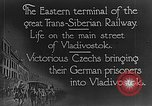 Image of easter terminal of Trans-Siberian Railway Vladivostok Russia, 1918, second 3 stock footage video 65675053028