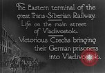Image of easter terminal of Trans-Siberian Railway Vladivostok Russia, 1918, second 10 stock footage video 65675053028