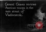 Image of General William S Graves Vladivostok Russia, 1918, second 1 stock footage video 65675053029