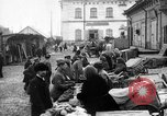 Image of US soldiers visit an open air market Archangel Russia, 1918, second 1 stock footage video 65675053036