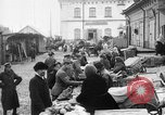 Image of US soldiers visit an open air market Archangel Russia, 1918, second 4 stock footage video 65675053036