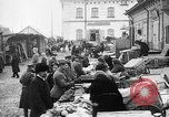Image of US soldiers visit an open air market Archangel Russia, 1918, second 9 stock footage video 65675053036