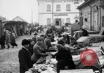 Image of US soldiers visit an open air market Archangel Russia, 1918, second 10 stock footage video 65675053036