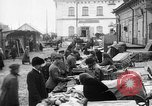 Image of US soldiers visit an open air market Archangel Russia, 1918, second 11 stock footage video 65675053036