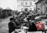 Image of US soldiers visit an open air market Archangel Russia, 1918, second 12 stock footage video 65675053036