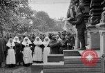Image of Raising American flag at Red Cross hospital Archangel Russia, 1918, second 1 stock footage video 65675053037