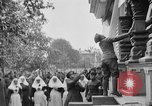 Image of Raising American flag at Red Cross hospital Archangel Russia, 1918, second 6 stock footage video 65675053037