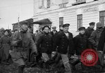 Image of Bolshevik prisoners Archangel Russia, 1918, second 9 stock footage video 65675053038